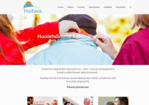 nettisivut mainostoimisto Lahti Idus - Hoitava