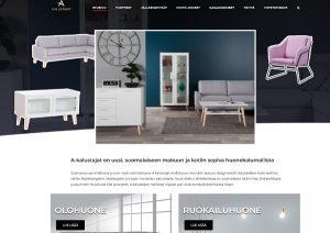 Kotisivut  Lahti  mainostoimisto Idus- A-kalustajat