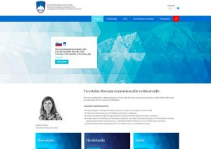 Verkkosivut Lahti - Slovenian consulate
