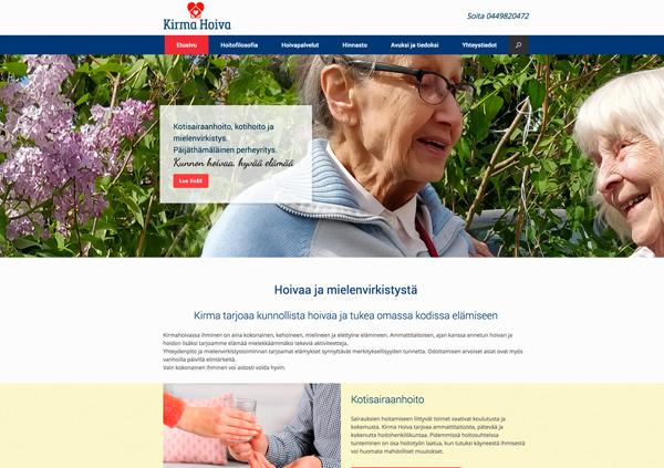 verkkosivut Lahti idus Kirma