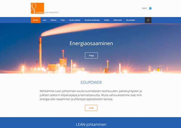 verkkosivut Lahti Idus Edupower
