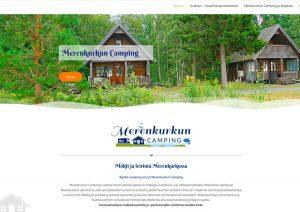Kotisivut mainostoimisto Lahti - Merenkurkun camping