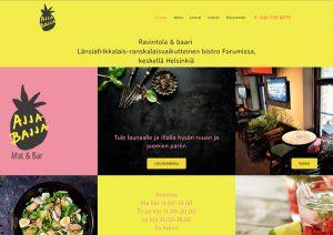 verkkosivut yrityksille wordpress ajjabajja