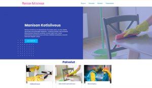 verkkosivut  siivous yritykselle